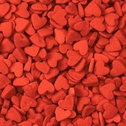 Посыпка сахарная Сердечки мини красные 48 г. 1