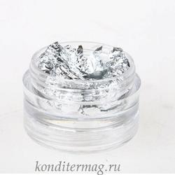 Серебро пищевое в баночке 1