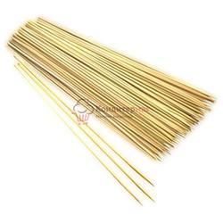 Шампуры заостренные 20х0.3 см., 10 шт. бамбук, 1
