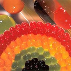 Шарики желейные Яблоко 3/4 мм 200 г. 1