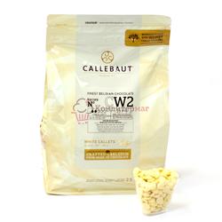 Шоколад белый 25.9% какао в галетах Barry Callebaut 250 г. 1