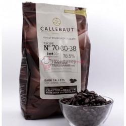 Шоколад горький 70,4% какао с нат. ванилью Callebaut 250 г. 1