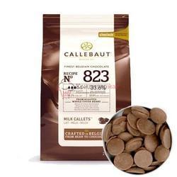 Шоколад молочный 33,5% какао в галетах Barry Callebaut 250 г. 1