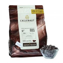 Шоколад темный 53,8% какао в галетах Barry Callebaut 250 г. 1