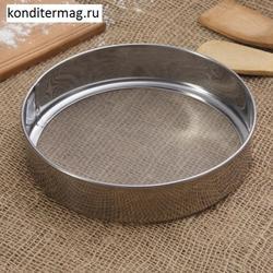 Сито кондитерское 19х4,5 см. нерж. 1