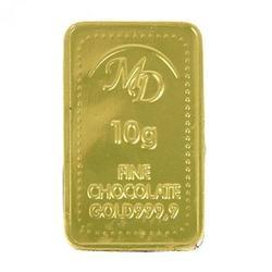 Слиток шоколадный в ассортименте  10 г. 5х3 см. 1