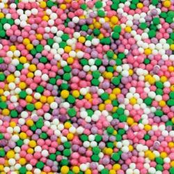 Посыпка сахарная Шарики Пастель 100 г. банка 1