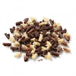 Стружка из молочного и белого шоколада 100 г. Barry Callebaut 1