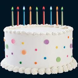 Свеча для торта Разноцветное пламя 12 шт. Вилтон 1