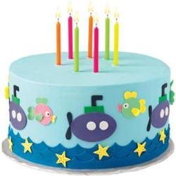 Свеча для торта Яркие цвета Wilton, 24  шт., 2