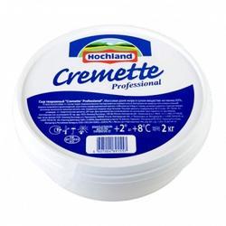 Творожный сыр Креметте Hochland 65% 2 кг. 1