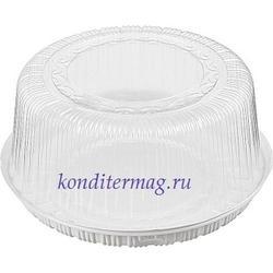 Контейнер для торта прозрачный 2 кг. 26x14 см. 1