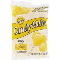 Тающая конфетка Candy Melts Желтая Yellow340 г. Вилтон 03-0085