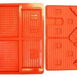 Форма силиконовая Домик Пряничный 2 шт. Брадекс 2