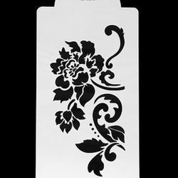 Трафарет Цветок 21,5х12 см. 1