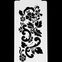 Трафарет Цветок 24х12 см. 1