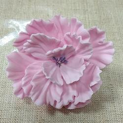 Украшение сахарное Цветок Пиона 8 см. 1 шт. 1