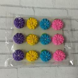 Украшение сахарное Маргаритка микс набор 12 шт. 1