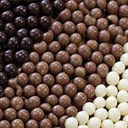 Жемчужины Белый шоколад хрустящие 100 г. Irca 2