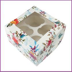Коробка 4 ячейки 16х10х10 см. Цветы/окно 1