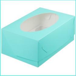 Коробка 6 ячеек 23,5х16х10 см. Тиффани/окно 1