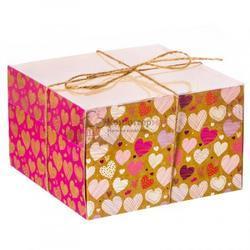 Упаковка для 4 капкейков Тебе моя любовь 1