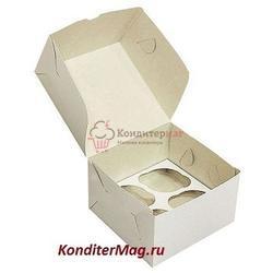 Упаковка для 4 капкейков Белла 1
