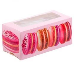 Коробка для макаронс 12х5,5х5,5 см. Макаруны 1