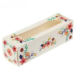 Упаковка для макарунс 18х5,5х5,5 см. Сладкие радости 2