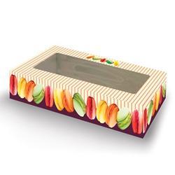 Коробка для сладостей 26х12х3,8 см. Полоска 1