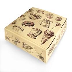 Коробка для сладостей 18х18х7 см. Сластена 1