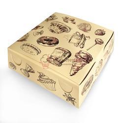 Упаковка для сладостей 18х18х7 см. Сластена п471 1