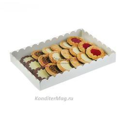 Упаковка для сладостей 23,5х30х3 см. Белла Премиум 1