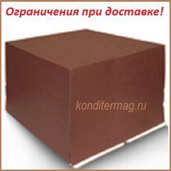 Упаковка для торта 5 кг. 40х40х30 см. Шоколадная 1