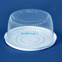 Контейнер для торта прозрачный 2-3 кг. 28x12 см. 1
