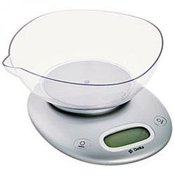 Весы кухонные Delta с чашей серебро 5 кг. 1