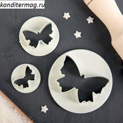 Формочка для печенья Бабочки 3 шт. пластик 830311 1