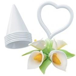 Формочка для создания цветов Каллы и Лилии 7 шт. 1