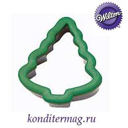 Формочка для печенья Елка 10х12 см. металл Вилтон 5