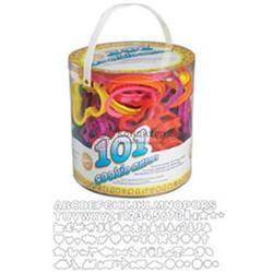 Формочка для печенья 101 шт. пластик Вилтон 1