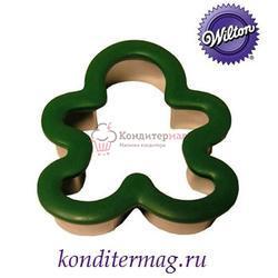 Формочка для печенья Пряничный человечек 11,5х10 см. металл Вилтон 1