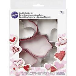 Формочка для печенья Сердца 7 шт. металл Вилтон 2