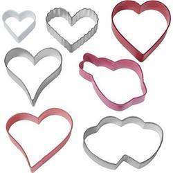 Формочка для печенья Сердца 7 шт. металл Вилтон 1