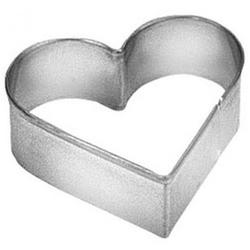 Формочка для печенья Сердце 4,5 см. металл Tescoma 1
