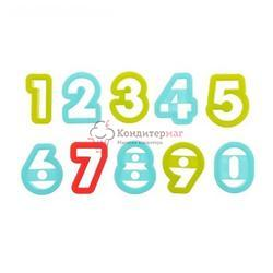 Формочка для печенья Цифры 10 шт. пластик 1