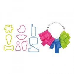 Формочка для печенья Забавная 10 шт. пластик Delicia Kids 3