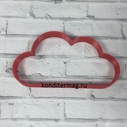 Формочка для печенья Облако №1 10,5х5,5 см. пластик 1
