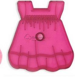 Штамп кондитерский Платье детское 13х12 см. 1