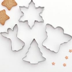 Формочка для печенья Рождество 4 шт. металл 1