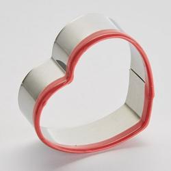 Формочка для печенья Сердце с ободком 5х2 см. металл Webber 1